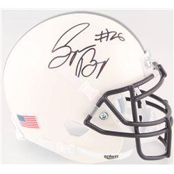 Saquon Barkley Signed Penn State Nittany Lions Mini Helmet with Full Signature (JSA COA)