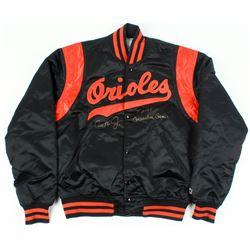 "Cal Ripken Jr. Signed Orioles Warm-Up Jacket Inscribed ""2131 Consecutive Games"" (PSA COA)"