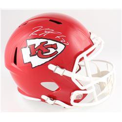 Kareem Hunt Signed Chiefs Full-Size Speed Helmet (JSA COA)