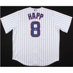 Ian Happ Signed Cubs Jersey (Schwartz Sports COA)