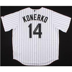 Paul Konerko Signed White Sox Jersey (Schwartz Sports COA)