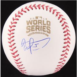 "Albert Almora Signed 2016 World Series Baseball Inscribed ""Ernie, Ronnie We Did It"" (Fanatics Hologr"
