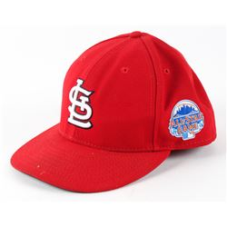 Yadier Molina 2013 Game-Used Cardinals All-Star Game New Era Fitted Baseball Hat (100% Authentic COA