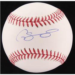 Gary Sanchez Signed Yankees OML Baseball (JSA COA)