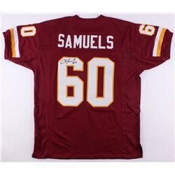 Chris Samuels Signed Redskins Jersey (JSA COA)