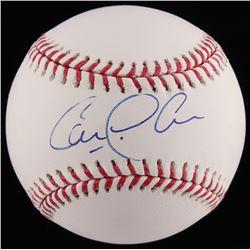 Carlos Correa Signed OML Baseball (PSA COA)