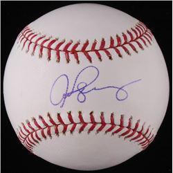 Alex Rodriguez Signed OML Baseball (Arod Hologram)