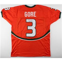 Frank Gore Signed Miami Hurricanes Jersey (JSA COA)