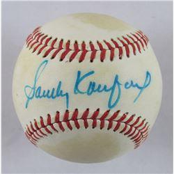 Sandy Koufax Signed OAL Baseball (JSA LOA)