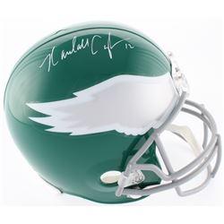 Randall Cunningham Signed Eagles Throwback Full-Size Helmet (Radtke COA)
