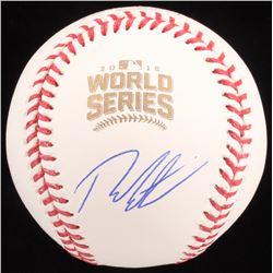 Theo Epstein Signed 2016 World Series Baseball (Schwartz COA)