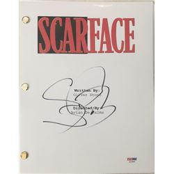 "Steven Bauer Signed ""Scarface"" Movie Full Script (PSA COA)"