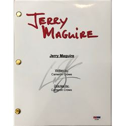 "Cuba Gooding Jr. Signed ""Jerry MaGuire"" Movie Full Script (PSA COA)"
