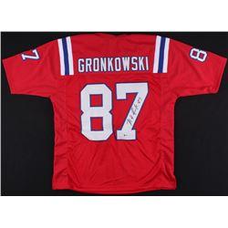 Rob Gronkowski Signed Patriots Jersey (Beckett COA)