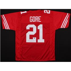 Frank Gore Signed 49ers Jersey (Schwarts Sports COA)