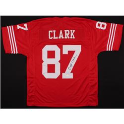 Dwight Clark Signed 49ers Jersey (JSA COA)