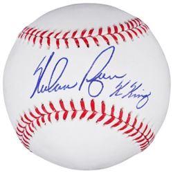 """Nolan Ryan Signed OML Baseball Inscribed """"K King"""" (Fanatics Hologram)"""