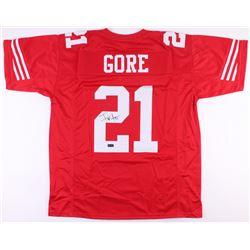 Frank Gore Signed 49ers Jersey (Radtke COA)
