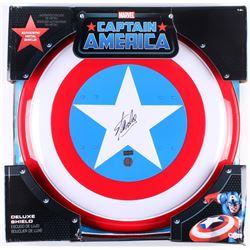 "Stan Lee Signed ""Captain America"" Marvel Authentic Full-Size Metal Shield (Radtke Hologram  Stan Lee"