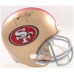 Frank Gore Signed 49ers Full-Size Helmet (JSA COA  Denver Autographs COA)
