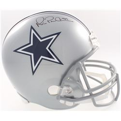 Michael Irvin Signed Cowboys Full-Size Helmet (JSA COA  Denver Autographs COA)