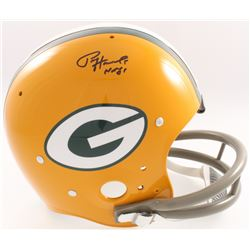 "Paul Hornung Signed Packers Full-Size TK Suspension Helmet Inscribed ""HOF 86"" (JSA COA  Denver Autog"