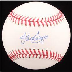 Jonathan Loaisiga Signed OML Baseball (Steiner Hologram)