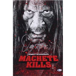 "Danny Trejo Signed ""Machete Kills"" 12x18 Mini Poster (Beckett COA)"