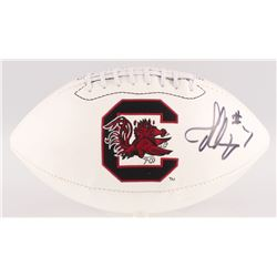 Jadeveon Clowney Signed South Carolina Gamecocks Logo Football (JSA COA)
