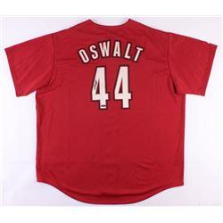 Roy Oswalt Signed Astros Jersey (Tristar Hologram)