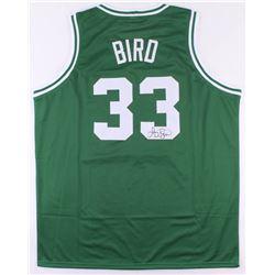 Larry Bird Signed Celtics Jersey (JSA COA)