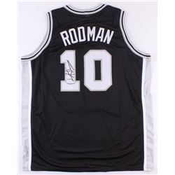 Dennis Rodman Signed Spurs Jersey (JSA COA)