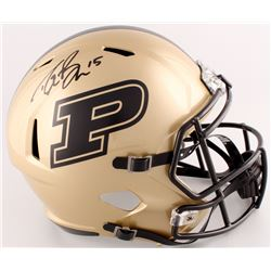 Drew Brees Signed Purdue Boilermakers Full-Size Speed Helmet (Radtke COA  Brees Hologram)