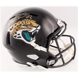 Fred Taylor Signed Jaguars Full-Size Speed Helmet (Beckett COA)