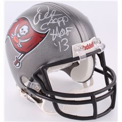 "Warren Sapp Signed Buccaneers Mini Helmet Inscribed ""HOF '13"" (JSA COA)"