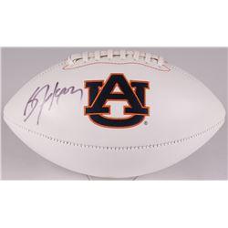 Bo Jackson Signed Auburn Tigers Logo Football (JSA COA)