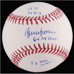 Bruce Sutter Signed OML Baseball With Extensive Inscriptions (JSA COA)