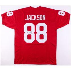 Keith Jackson Signed Oklahoma Sooners Jersey (JSA COA)