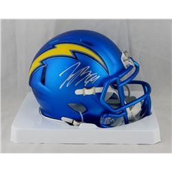 Joey Bosa Signed Chargers Blaze Speed Mini Helmet (JSA COA)