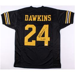 "Pete Dawkins Signed Army Black Knights Jersey Inscribed ""H-1958"" (JSA COA)"