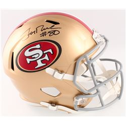 Jerry Rice Signed 49ers Full-Size Speed Helmet (Beckett COA)