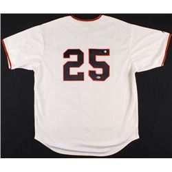 Barry Bonds Signed Gaints Majestic Jersey (Beckett COA  Bonds Hologram)