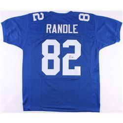 Rueben Randle Signed Giants Jersey (JSA COA)