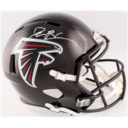 Deion Sanders Signed Falcons Full-Size Speed Helmet (Beckett COA)