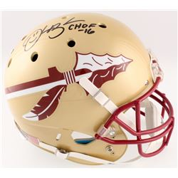 "Derrick Brooks Signed Florida Sate Seminoles Full-Size Helmet Inscribed ""CHOF 2016"" (Radtke COA)"