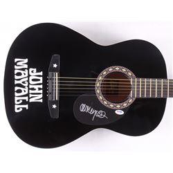 John Mayall Signed Full-Size Acoustic Guitar (PSA COA)