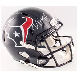 DeAndre Hopkins Signed Texans Full-Size Speed Helmet (Beckett COA)