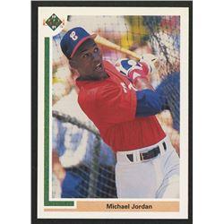 1991 Upper Deck #SP1 Michael Jordan SP / Shown batting in / White Sox uniform