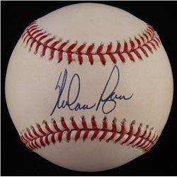 Nolan Ryan Signed OML Baseball (JSA COA  Ryan Hologram)