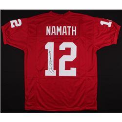 Joe Namath Signed Alabama Crimson Tide Jersey (JSA COA)